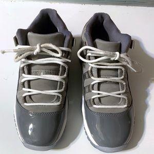 Nike Jordan 11 Retro Low Cool Grey Youth Sneakers